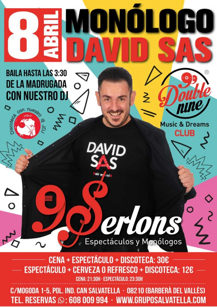David Sas 9Serlons