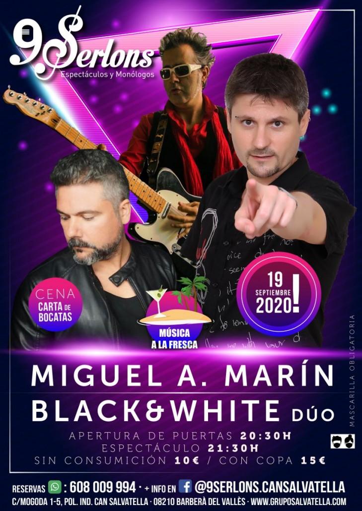 Miguel A. marín - Black & White Dúo