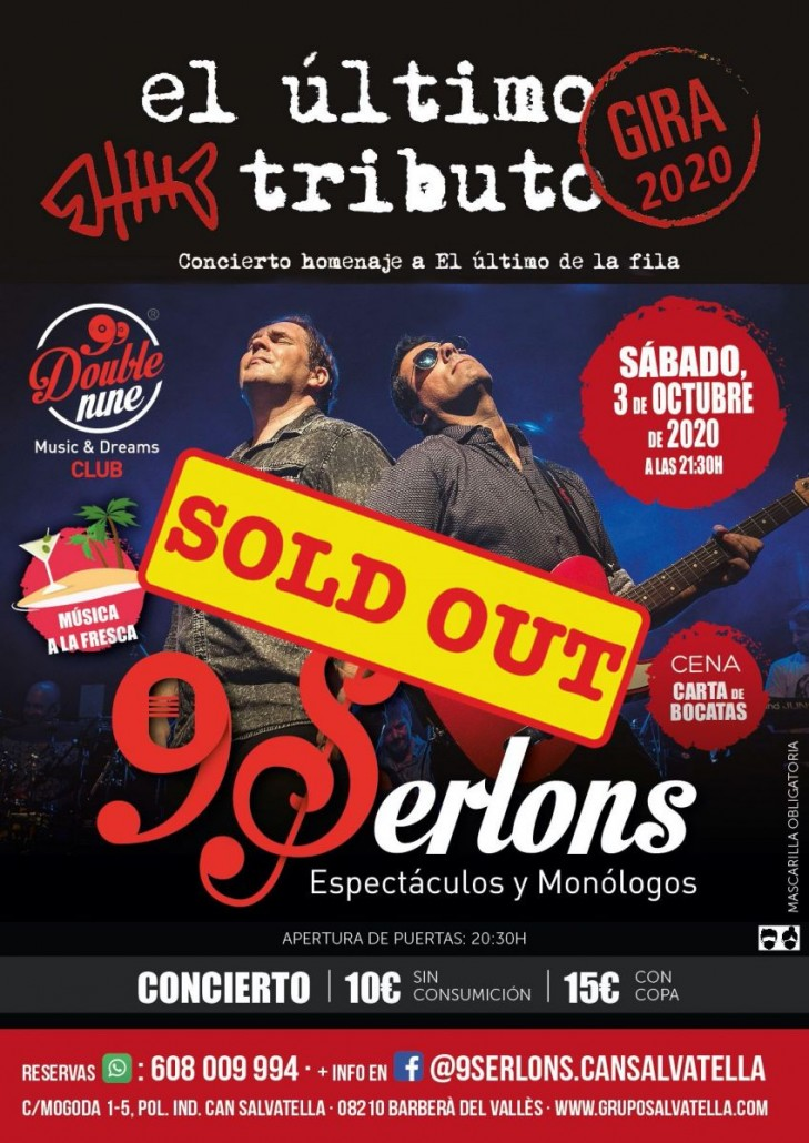 sold out el ultimo tributo
