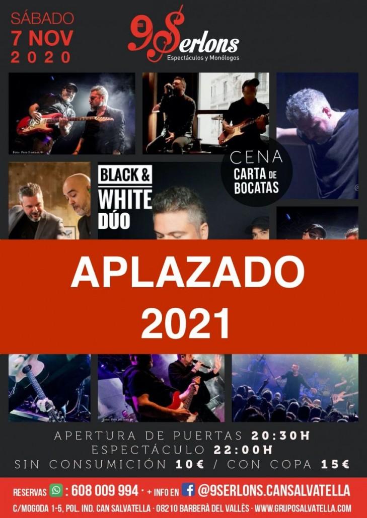 BLACK & WHITE APLAZADO