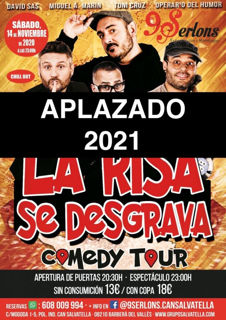 COMEDY TOUR APLAZADO